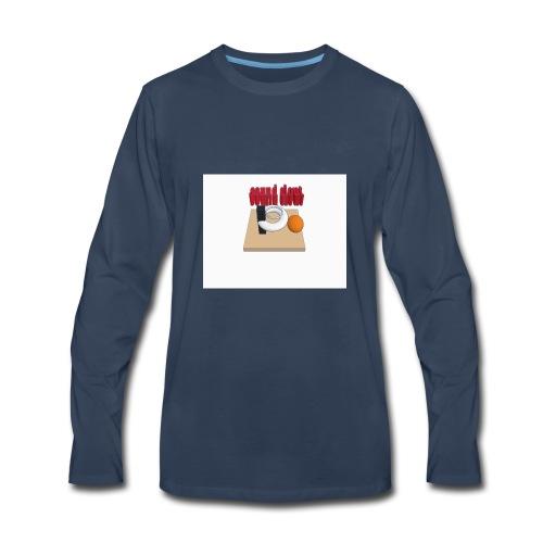 hoops - Men's Premium Long Sleeve T-Shirt