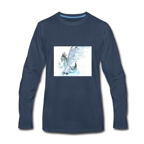 Little dude griffins and dragons 30659635 1004 791 - Men's Premium Long Sleeve T-Shirt