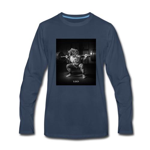 SquattingTiger - Men's Premium Long Sleeve T-Shirt