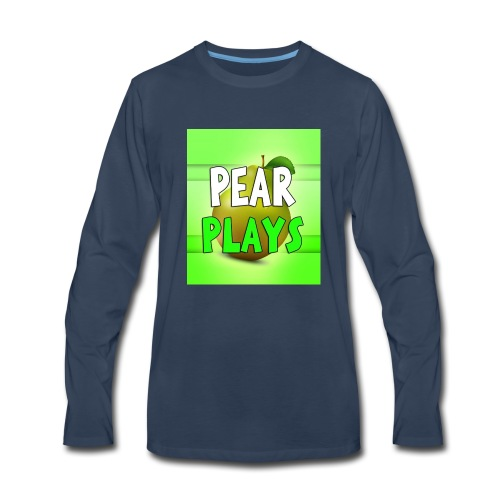 Phone Case Pear Plays Logo - Men's Premium Long Sleeve T-Shirt