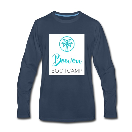 Bowen bootcamp active gear - Men's Premium Long Sleeve T-Shirt