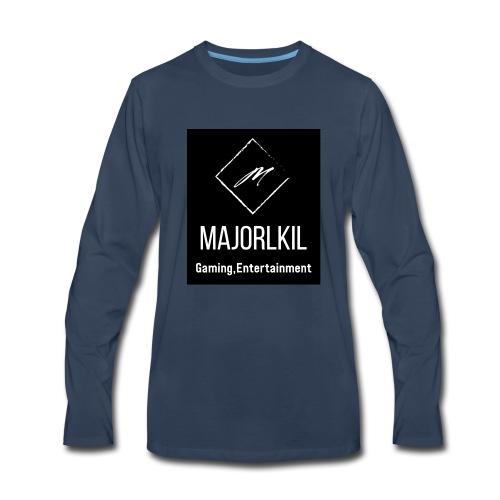 Black Alternative Logo - Men's Premium Long Sleeve T-Shirt
