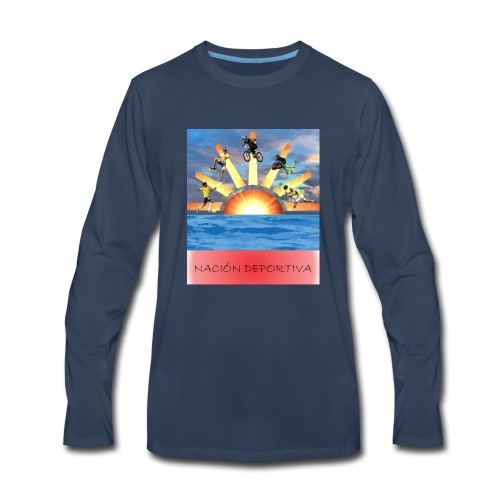 NACION DEPORTIVA - Men's Premium Long Sleeve T-Shirt