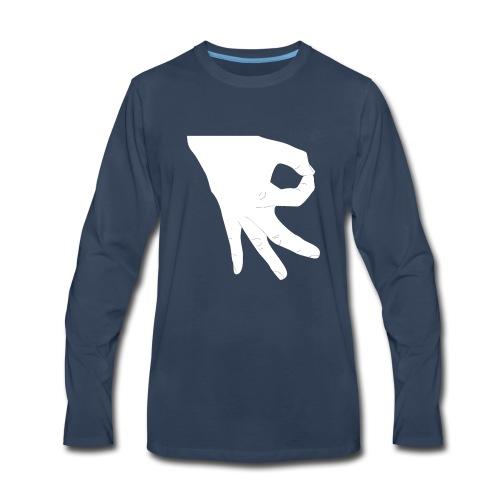 Made You Look - Men's Premium Long Sleeve T-Shirt