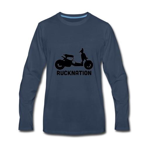 Ruckus rucknation - Men's Premium Long Sleeve T-Shirt