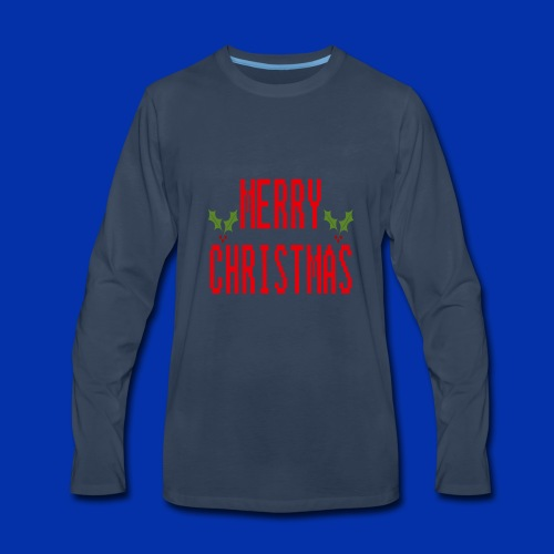 MerryChristmas - Men's Premium Long Sleeve T-Shirt
