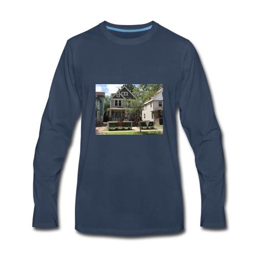 Christopher Superman Shop - Men's Premium Long Sleeve T-Shirt
