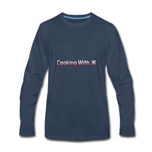 Cooking with JK - Men's Premium Long Sleeve T-Shirt