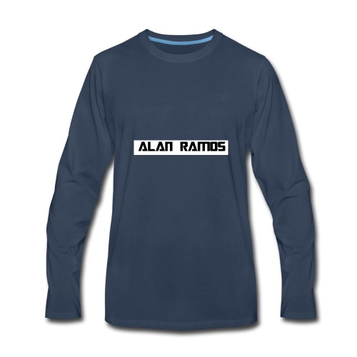 alan ramos jacket & hoodie - Men's Premium Long Sleeve T-Shirt