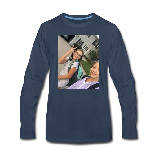 Lilli and maddie - Men's Premium Long Sleeve T-Shirt