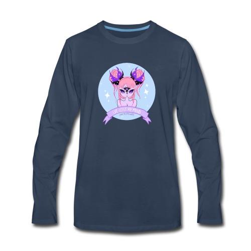 My Mind Girl - Men's Premium Long Sleeve T-Shirt