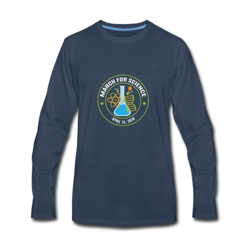 March for Science 2018 - Men's Premium Long Sleeve T-Shirt