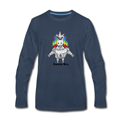 Gym Unicorn - Men's Premium Long Sleeve T-Shirt