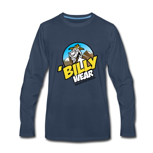 'Billy Wear brand logo - Men's Premium Long Sleeve T-Shirt