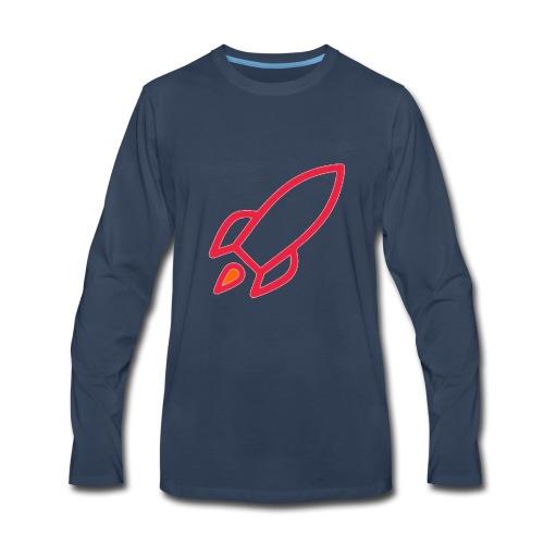 Rocket Cheap Women - Men's Premium Long Sleeve T-Shirt