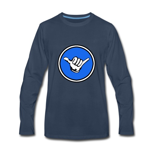 Shaka Gaming Main Logo - Men's Premium Long Sleeve T-Shirt