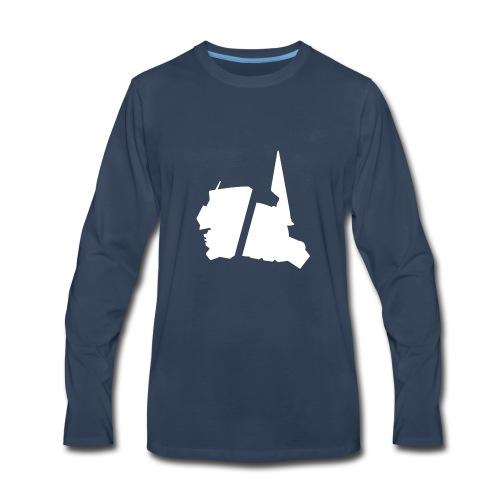GBA_icon_white - Men's Premium Long Sleeve T-Shirt