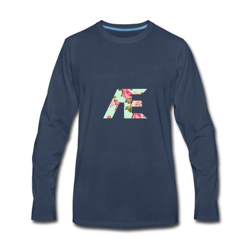 AE Floral design - Men's Premium Long Sleeve T-Shirt