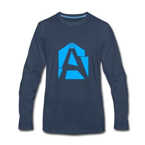 Abstrakt Simplistic - Men's Premium Long Sleeve T-Shirt