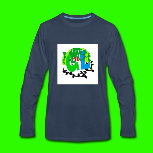 Greenleaf10 logo - Men's Premium Long Sleeve T-Shirt