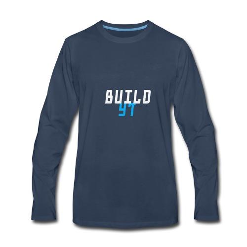 BuilderYt - Men's Premium Long Sleeve T-Shirt