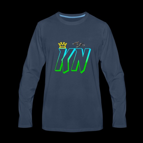 2018 keag and Nate Logo - Men's Premium Long Sleeve T-Shirt