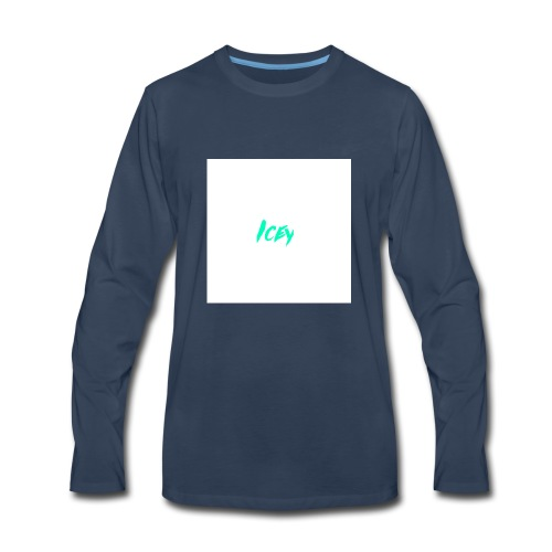 Icey logo - Men's Premium Long Sleeve T-Shirt