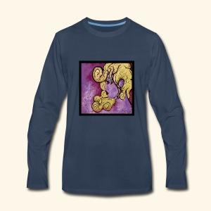 Spiral Woman - Men's Premium Long Sleeve T-Shirt