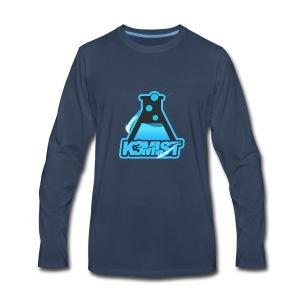 K3MISTRY Logo - Men's Premium Long Sleeve T-Shirt