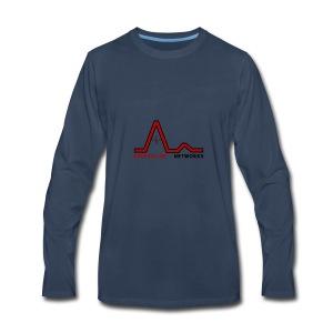 New Logo (With Name) - Men's Premium Long Sleeve T-Shirt