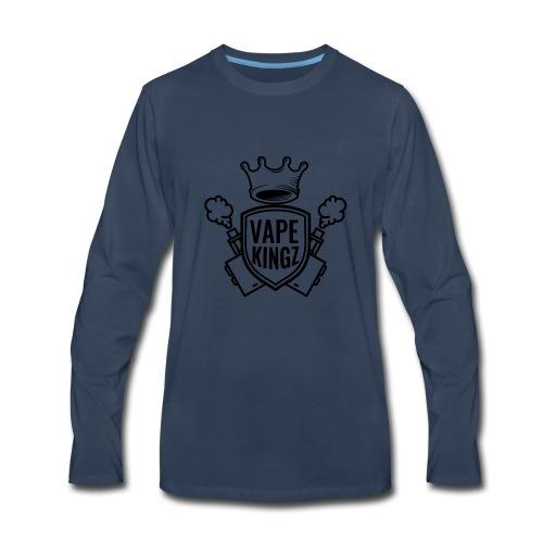 vape kingz LOGO - Men's Premium Long Sleeve T-Shirt
