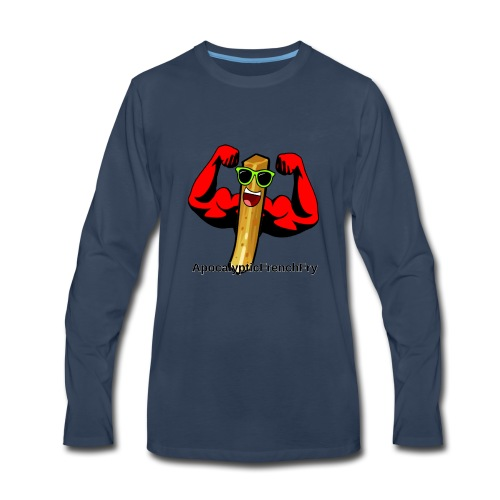 ApocalypticFrenchFry - Men's Premium Long Sleeve T-Shirt