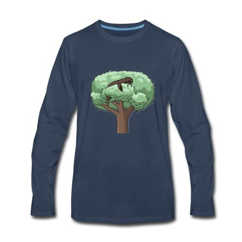 It's a WALRUS.....IN A TREE! - Men's Premium Long Sleeve T-Shirt