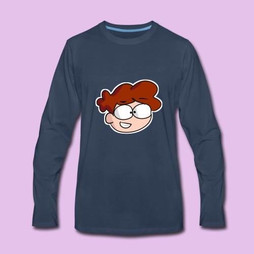 FireW0lf Logo - Men's Premium Long Sleeve T-Shirt