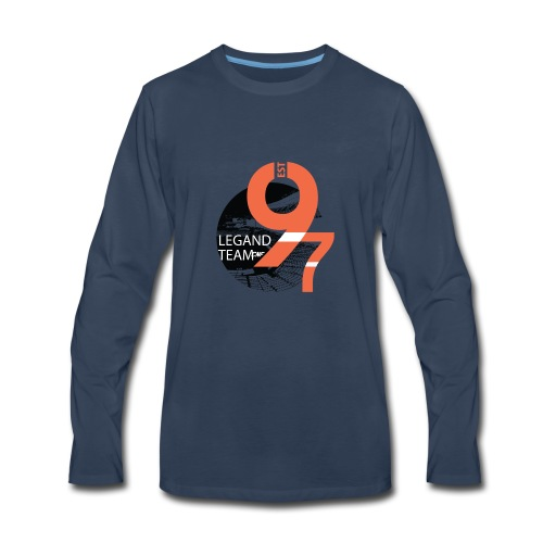 Baseball - Men's Premium Long Sleeve T-Shirt