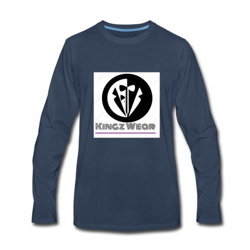 KINGZ WEAR. - Men's Premium Long Sleeve T-Shirt