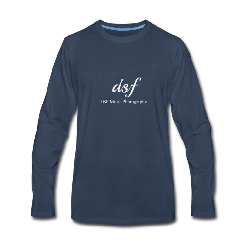 DSF Music Photography - Men's Premium Long Sleeve T-Shirt