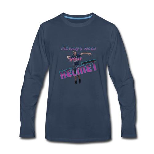 Mr. Giraffe Design 5 - Men's Premium Long Sleeve T-Shirt