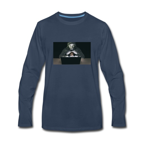 The Official Anonymus Logo - Men's Premium Long Sleeve T-Shirt