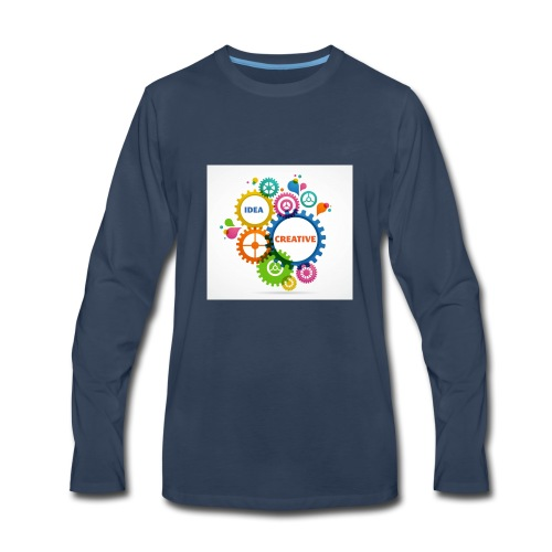 Think Outside the box - Men's Premium Long Sleeve T-Shirt