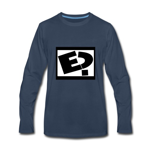 Rated E - Men's Premium Long Sleeve T-Shirt