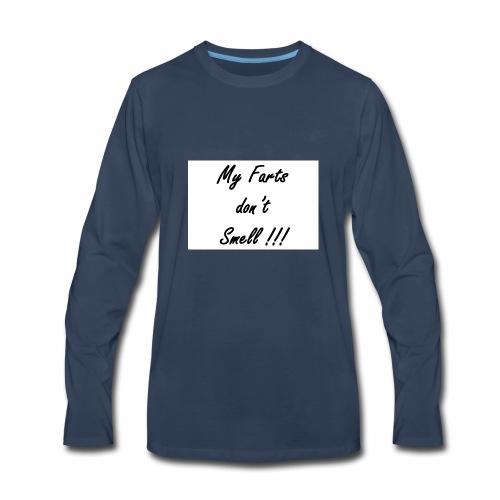 #myfarts - Men's Premium Long Sleeve T-Shirt