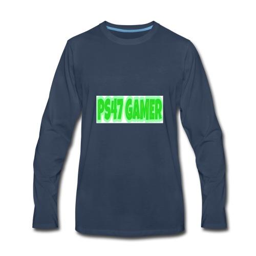 PS47 OFFICIAL GAMERTAG - Men's Premium Long Sleeve T-Shirt