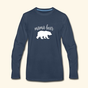 mama bear - Men's Premium Long Sleeve T-Shirt