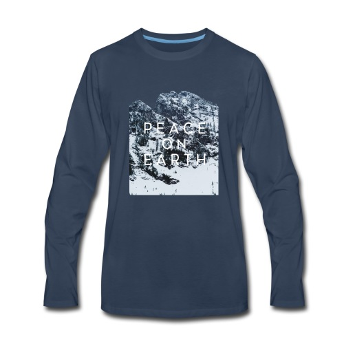 PEACE ON EARTH - Men's Premium Long Sleeve T-Shirt