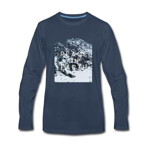 PEACE ON EARTH - Men's Premium Long Sleeve T-Shirt