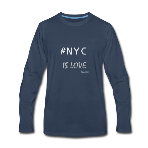 DM Official NYC is Love - Men's Premium Long Sleeve T-Shirt
