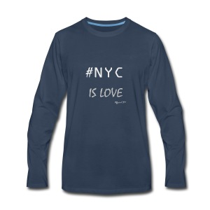 DM Official NYC is Love - Men's Premium Long Sleeve T-Shirt