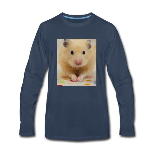 My little hamster world - Men's Premium Long Sleeve T-Shirt