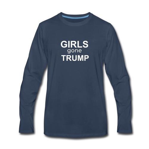 GIRLS gone TRUMP - Men's Premium Long Sleeve T-Shirt